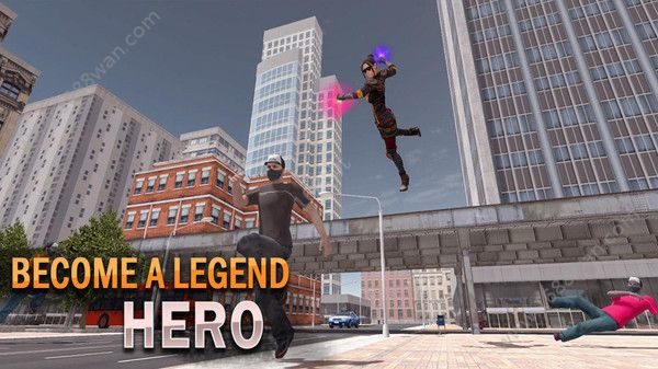 超级英雄追捕