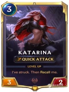 LOR不祥之刃卡特琳娜卡牌介绍 全英雄卡牌攻略