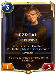 LOR探险家伊泽瑞尔卡牌介绍 全英雄卡牌攻略