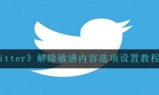 twitter如何解除敏感内容选项-解除敏感内容选项设置教程分享